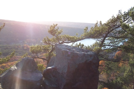 Devil's Lake State Park, WI. Photo by Jeff Jacobs