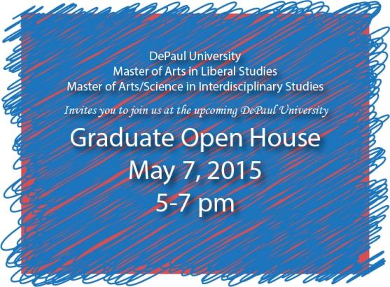 Graduate Open House Graphic