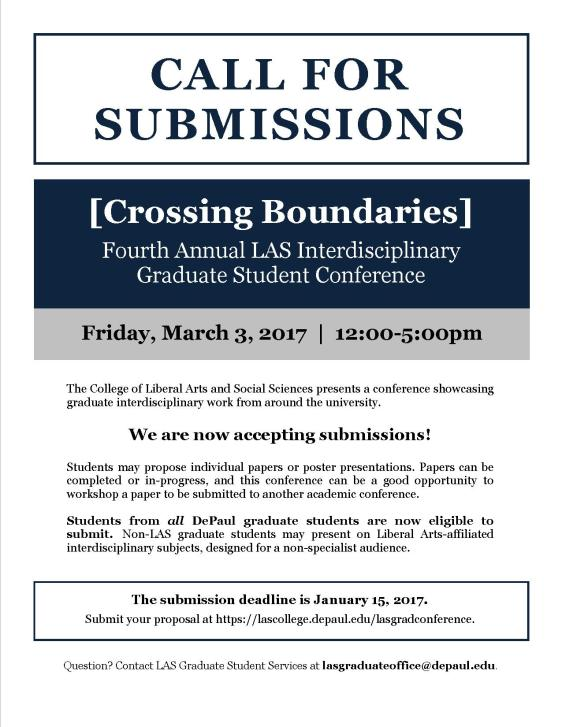 Graduate Student Conference flyer - Call for Papers.jpg