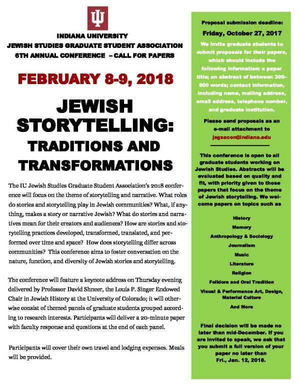 Jewish Studies Conference