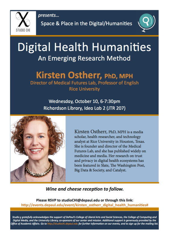 Osther flyer digital health humanities msedits