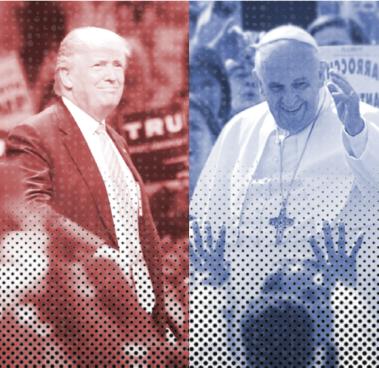 Trump+Pope